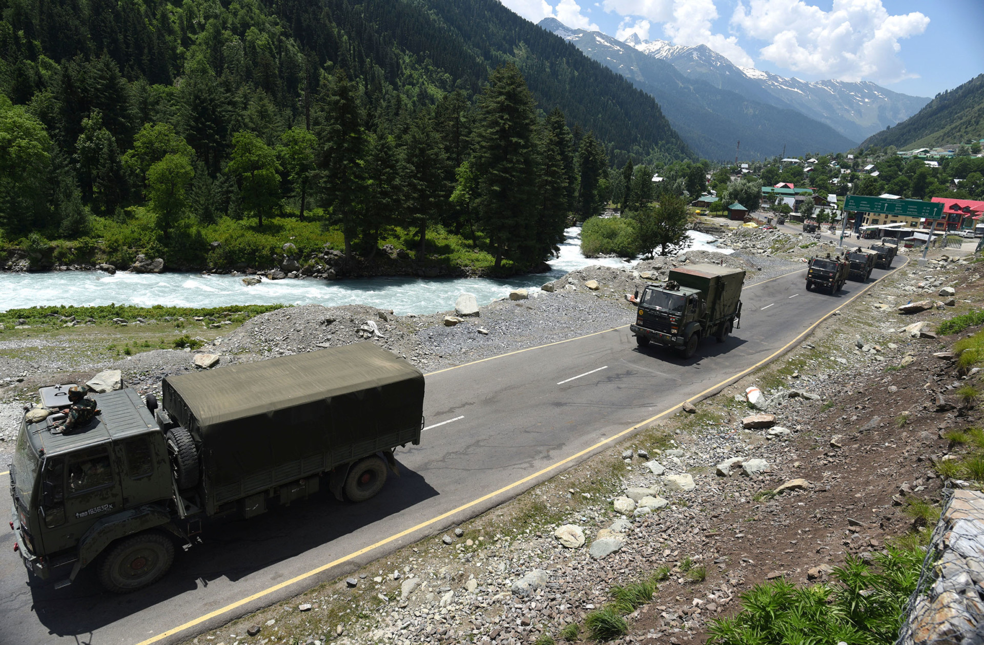 China Joins India and Pakistan in the Kashmir Battlespace