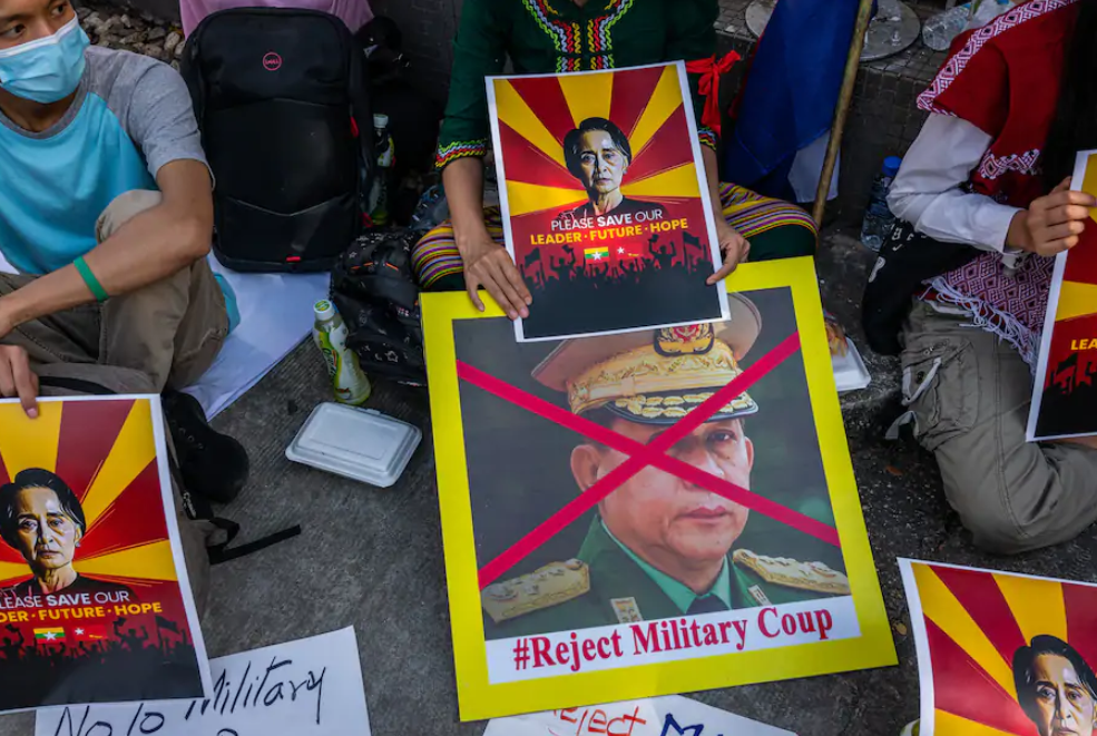 Why democracy in Myanmar was so easily crushed